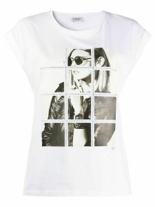 LIU JO crystal detail T-shirt - White
