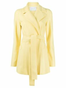 Harris Wharf London knitted belted jacket - Yellow