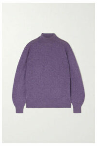 Khaite - Julie Cashmere-blend Turtleneck Sweater - Lilac