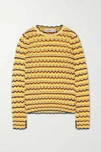 Victoria, Victoria Beckham - Open-knit Sweater - Yellow