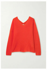 Maje - Cashmere Sweater - Bright orange