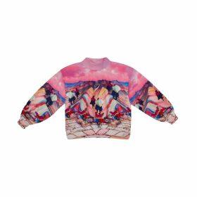 Camille Defago - Cusco Rainbow Sweatshirt