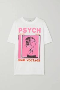 McQ Alexander McQueen - Printed Cotton-jersey T-shirt - White