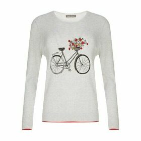 Bicycle Print Jumper