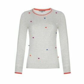 Multicolour Pom Pom Jumper