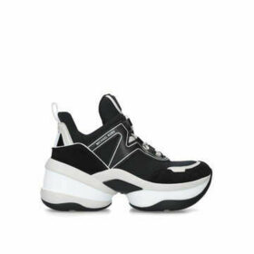 Michael Michael Kors Olympia Trainer - Black Chunky Trainers