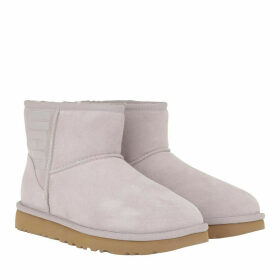 UGG Boots & Booties - W Classic Mini Rubber Logo Feather - grey - Boots & Booties for ladies
