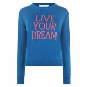 Alberta Ferretti Live Your Dream Knitted Jumper