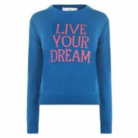 Alberta Ferretti Live Your Dream Knitted Jumper
