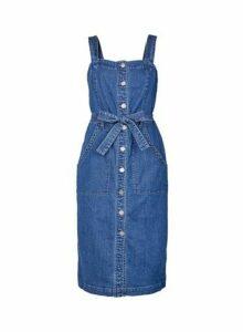 Womens Only Blue Denim Dress, Blue