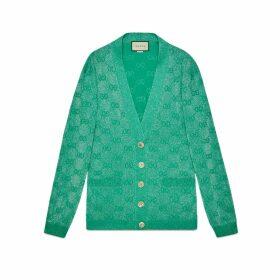 GG sparkling wool cardigan
