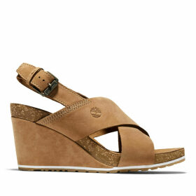 Timberland Capri Sunset Sandal For Women In Brown Brown, Size 9