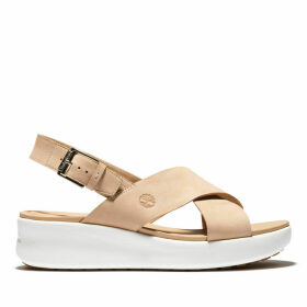 Timberland Los Angeles Wind Slingback For Women In Beige Pink, Size 9