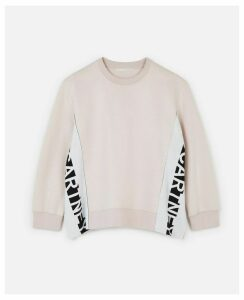 Stella McCartney Pink Logo Sweatshirt, Women's, Size 14