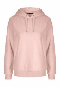 Womens Pale Pink Overhead Hoody