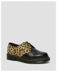 1461 LEOPARD PRINT & LEATHER SHOES