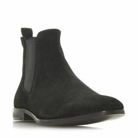 Dune Mayweather Chisel Toe Chelsea Boots