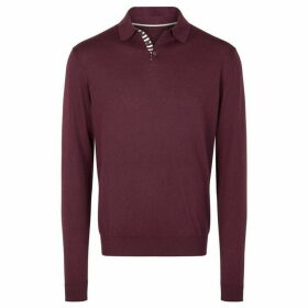 Richard James Long Sleeved Polo Knit