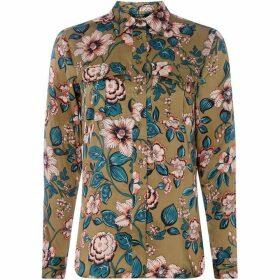 Lauren by Ralph Lauren Nediah floral shirt