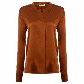 Boss Barinese silk mix blouse