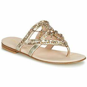 Fru.it  -  women's Flip flops / Sandals (Shoes) in Gold