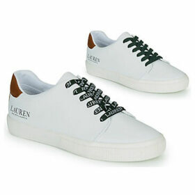Lauren Ralph Lauren  JOANA SNEAKERS VULC  women's Shoes (Trainers) in White