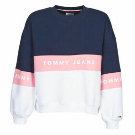 Tommy Jeans  TJW COLORBOCK CREW  women's Sweatshirt in Blue