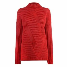 Firetrap Blackseal High Knit Jumper