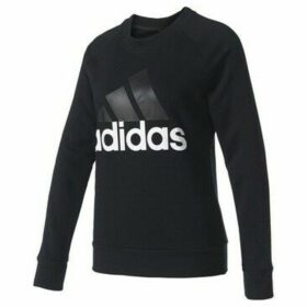 adidas  Essentials Linear Crewneck Sweatshirt W  women's Sweatshirt in Black