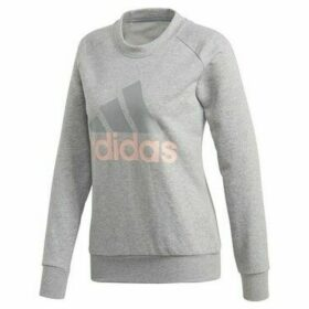adidas  Essentials Linear  women's Sweatshirt in Grey