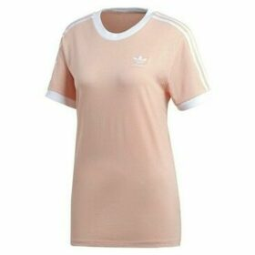 adidas  3 Stripes Tee  women's T shirt in multicolour