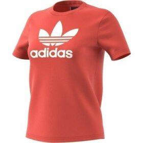 adidas  Trefoil  women's T shirt in multicolour