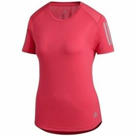 adidas  Own The Run Tee  women's T shirt in multicolour