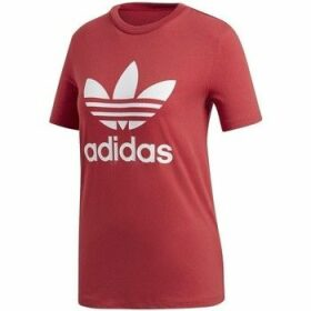 adidas  Trefoil  women's T shirt in multicolour