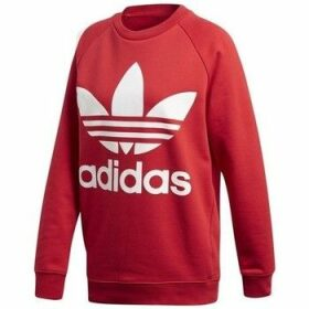 adidas  Oversized Swea  women's Sweatshirt in Red