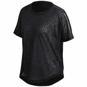 adidas  Tee AI  women's T shirt in Black