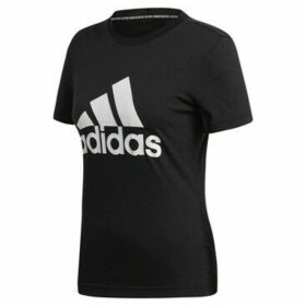adidas  Must Haves Badge OF Sport  women's T shirt in Black