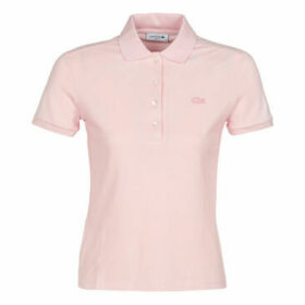 Lacoste  PH5462 SLIM  women's Polo shirt in Pink