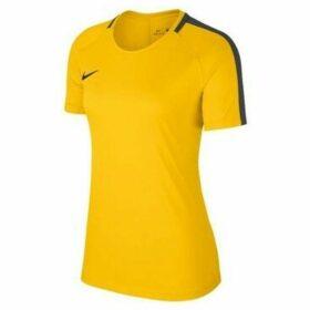 Nike  Dry Academy 18  women's T shirt in Yellow