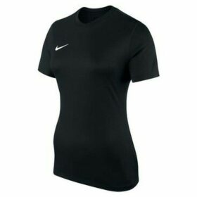Nike  Park  women's T shirt in Black