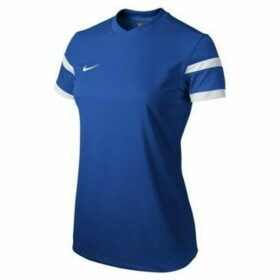 Nike  Trophy II Jersey  women's T shirt in Blue