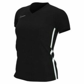 Nike  Womens Dry Academy 19  women's T shirt in Black
