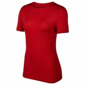 Nike  All Over Mesh  women's T shirt in Red