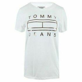 Tommy Hilfiger  DW0DW07158YA2  women's T shirt in multicolour