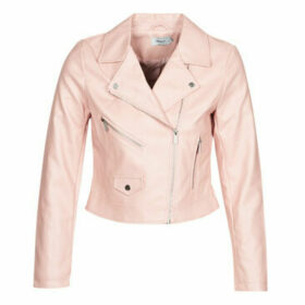 Only  ONLENYA  women's Leather jacket in Pink