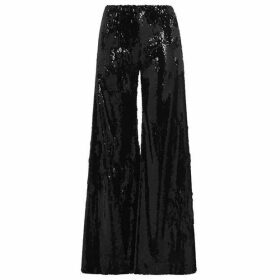 Serena Bute Sequin Flare Trousers