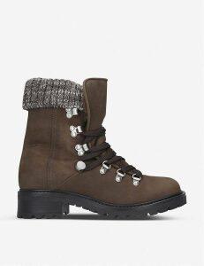 Menuda nubuck leather hiking boots