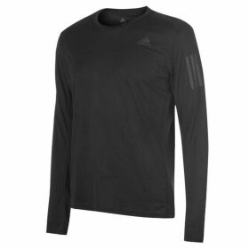 adidas OTR Long Sleeve T Shirt Mens - Black