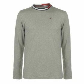 Tommy Bodywear LS Flag Band Mens - Grey Heather