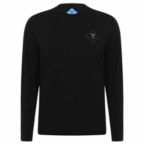 Barbour Beacon Hill Long Sleeve T Shirt - Black